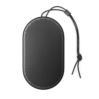 B & O BeoPlay P2 Portable Bluetooth Speaker with Built-In Microphone - Black