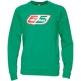 55 DSL Mens Flogo Crew Sweat Green