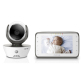Motorola MBP854CONNECT Digital Video Baby Monitor with Wi-Fi Internet Viewing - White