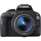 Canon EOS 100D Twin Kit with 18-55mm IS STM and 75-300mm III Lens Digital SLR Camera - Black