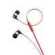 Optoma NuForce NE-600M Sound Isolating In-Ear Headphones with microphone - Red