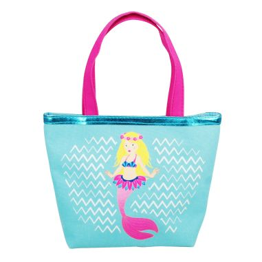 Luvley at Hamleys Blue Summer Mermaid Handbag, Blue