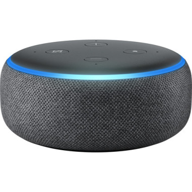 Amazon Echo Dot (3rd Generation) Wireless Home Speakers - Charcoal (US version)
