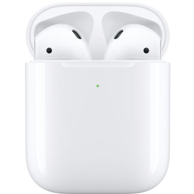 Apple Airpods 2 MRXJ2 with Wireless Charging Case - White (Airpods 2)