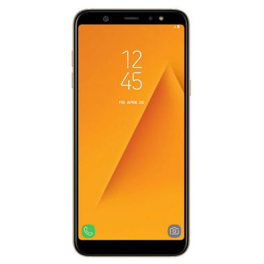 Samsung Galaxy A6+ (2018) A605G 4GB/32GB Dual sim With Tempered Glass Screen Protector (Clear) - Gold