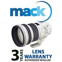 Mack 3 yr Extended Int'l Warranty for Lens under €7000 (1086)