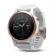 Garmin Fenix 5S Rose Goldtone Sapphire with White Band Multisport GPS Watch Only