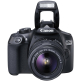 Canon EOS 1300D Kit with 18-55mm IS II Lens Digital SLR Camera - Black