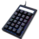 Ducky Pocket Brown Cherry MX RGB Color LED Mechanical Keyboard (DKPO1623ST-BUSPDAAT1)