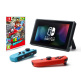 Nintendo Switch (Neon Blue and Neon Red Joy?Con) with Super Mario Odyssey