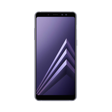 Samsung Galaxy A8+ (2018) A730 Dual sim 6GB/64GB with 32GB Micro SDHC Memory Card with SD Adapter - Orchid Grey