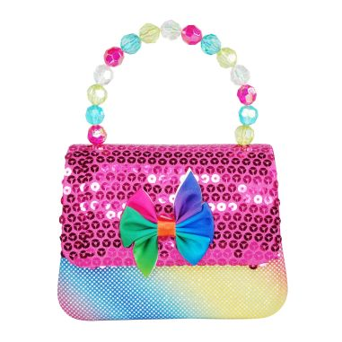 Luvley at Hamleys Rainbow Mermaid Hard Handbag