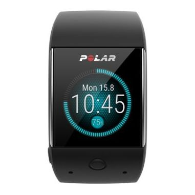 Polar M600 Android Wear GPS Sports Smart Watch with Wrist-Based Heart Rate Monitor - Black