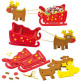 3D Foam Reindeer and Sleigh Kits
