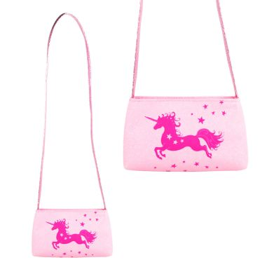 Luvley at Hamleys Magical Moment Unicorn Pink Shoulder Bag, Pink