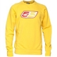 55 DSL Mens Flogo Crew Sweat Yellow