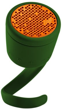 BOOM Swimmer DUO Waterproof Speaker with Stereo Pairing - Green/Orange