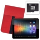 CnM 9.7 inch 8GB TouchPAD Android 4.0 Tablet with Google Play, HDMI Output, Premium Folding Case and 8GB Memory Card