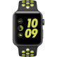 Apple Watch Nike+ 42mm Space Gray Aluminum Case with Black/Volt Nike Sport Band MP0A2
