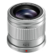 Panasonic H-HS043E LUMIX G 42.5mm f/1.7 ASPH. POWER O.I.S. Lens - Silver