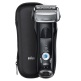 Braun Series 7 7840s Wet and Dry Men's Electric Foil Shaver - Black (without Clean & Renew cartridge)