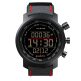 Suunto Elementum Sports Watch (SS019171000) - Terra Black/Red Leather
