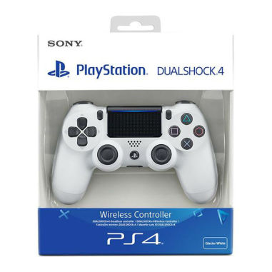 S0NY PlayStation DUALSHOCK4 Wireless PS4 Controller - Glacier White