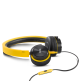 AKG Y40 Yellow Mini On-Ear Headphone with Remote/Microphone and Detachable Cable - Yellow