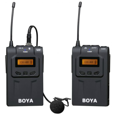 BOYA BY-WM6 UHF Wireless Microphone System (HS code: 8518 3010) Recorder