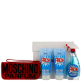 Moschino Fresh Couture Eau de Toilette Spray 100ml, Body Lotion 100ml, Bath and Shower Gel 100ml and Manicure Set