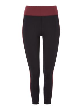 Biba Gym Coral Spice Block Legging 78th, Black