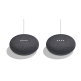 Google Home Mini Smart Speaker Duo Pack - Charcoal (US Version)