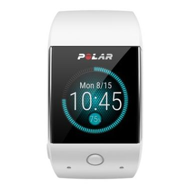 Polar M600 Android Wear GPS Sports Smart Watch with Wrist-Based Heart Rate Monitor - White