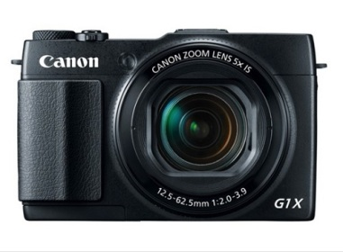 Canon PowerShot G1X Mark II Digital Camera - Black