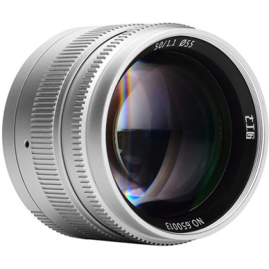 7artisans Photoelectric 50mm f/1.1 Lens for Leica M-Mount - Silver