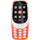 Nokia 3310 (2017) 2G GSM Dual Sim - Red (English only)