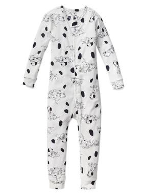 Babygap &#124 Disney Baby 101 Dalmatians Sleep One Piece - New off white