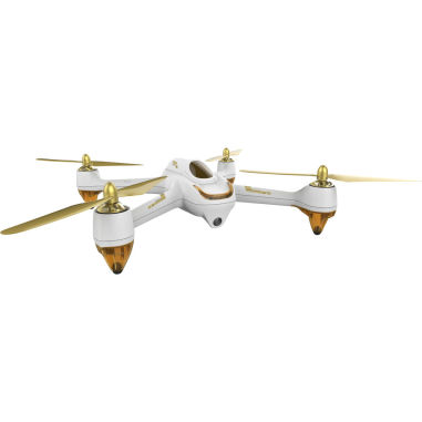 Hubsan X4 H501S FPV Brushless 1080P Camera Quadcopter with Transmitter (RTF) with Standard Remote Controller FPV2 - Whit