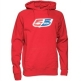 55 DSL Mens Flogo Hoody Red