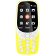 Nokia 3310 (2017) 2G GSM Dual Sim SIM FREE/UNLOCKED- Yellow (English only)