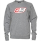 55 DSL Mens Flogo Crew Sweat Grey Marl