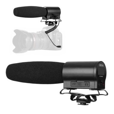 BOYA BY-DMR7 Broadcast Quality Condenser Microphone Recorder