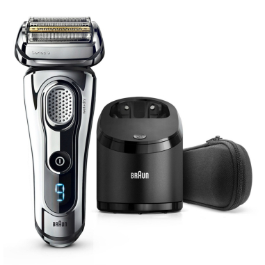 Braun Series 9 9295cc Wet and Dry Men's Electric Shaver - Silver (without Clean & Renew cartridge)