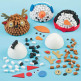 3D Mosaic Christmas Craft Kits