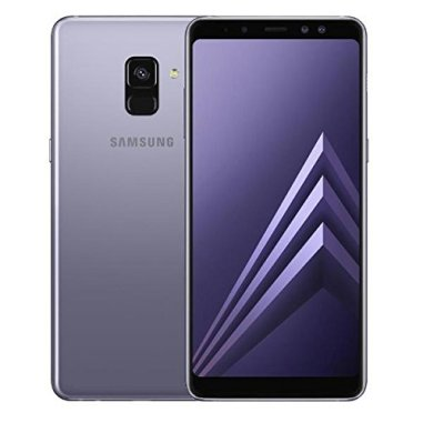 Samsung Galaxy A8 (2018) A530 Dual sim 4GB/32GB with Tempered Glass Screen Protector - Orchid Grey
