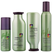 Pureology Clean Volume Set: For Fine, Colour Treated Hair