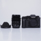 Fujifilm X-T3 Digital Camera with XF 18-55mm and XC 50-230mm Lens - Black