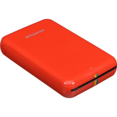 Polaroid Zip Instant Mobile Printer - Red (Compatible with iOS & Android Devices)
