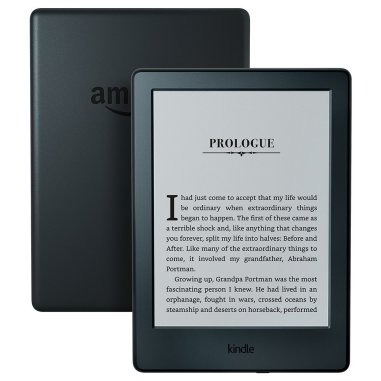 All-New Kindle E-reader 6? Glare-Free Touchscreen Display, Wi-Fi – Black