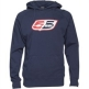 55 DSL Mens Flogo Hooded Sweat Navy